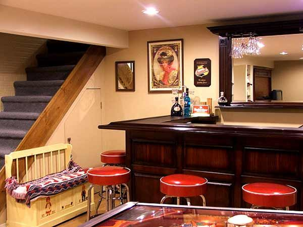 cool basement wet bar cheers to the weekend bar