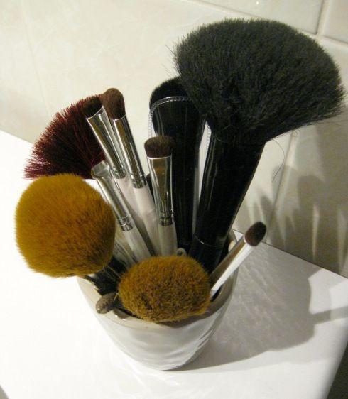 Ma collection de pinceaux maquillage nettoyer ses pinceaux Melting Pot Au Féminin