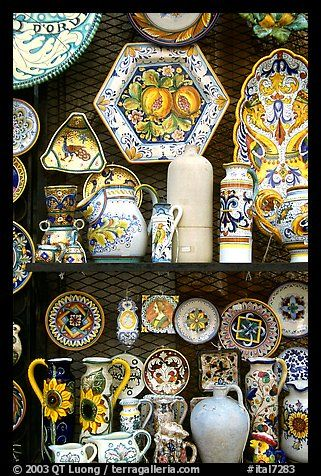 Orvieto Italy, famous for its pottery