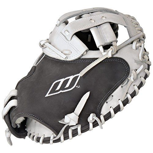 Worth Liberty Advanced Catchers Mitt Fastpitch Softball Glove 34 inch LACMGW (Right Hand Throw)