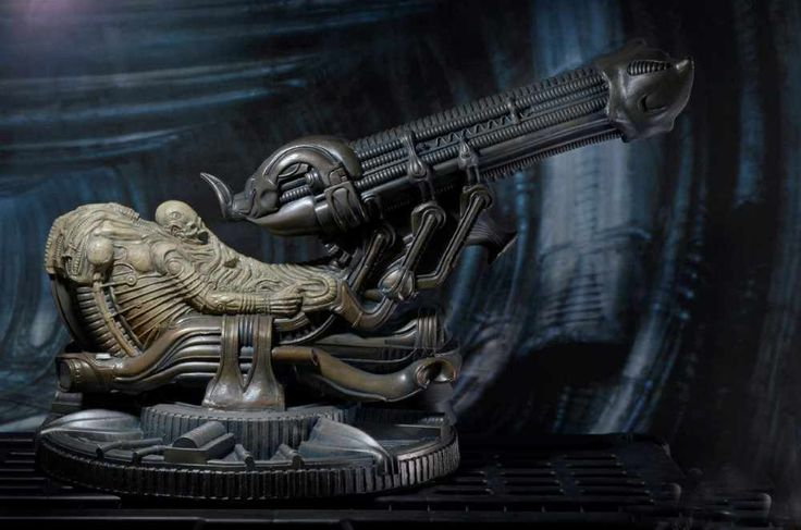 "NECA Fossilized Space Jockey from the first Alien movie is being released December 2016. This large scale product is scaled to fit in with 7"" scale figures."