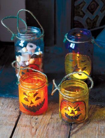 Make your own Halloween lanterns