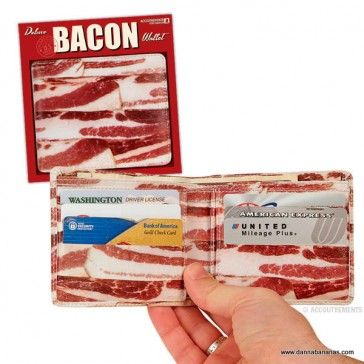 Bacon flavoured currency: http://www.dannabananas.com/bacon-wallet/
