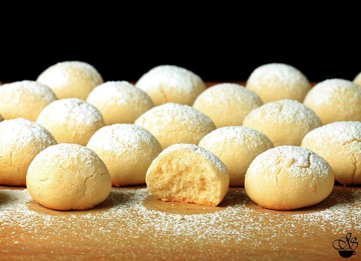 Janette's Cafe - Печенье Тающие Мгновения (Melting Moments Cookies)