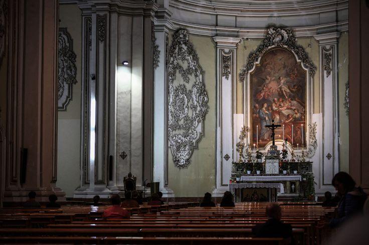 La Chiesa del Gesù (o Chiesa del Collegio dei Gesuiti) La circoncisione di Gesù. di Giuseppe Renda 1797