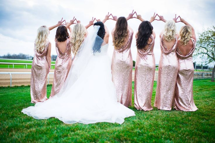 Kappa Delta wedding party