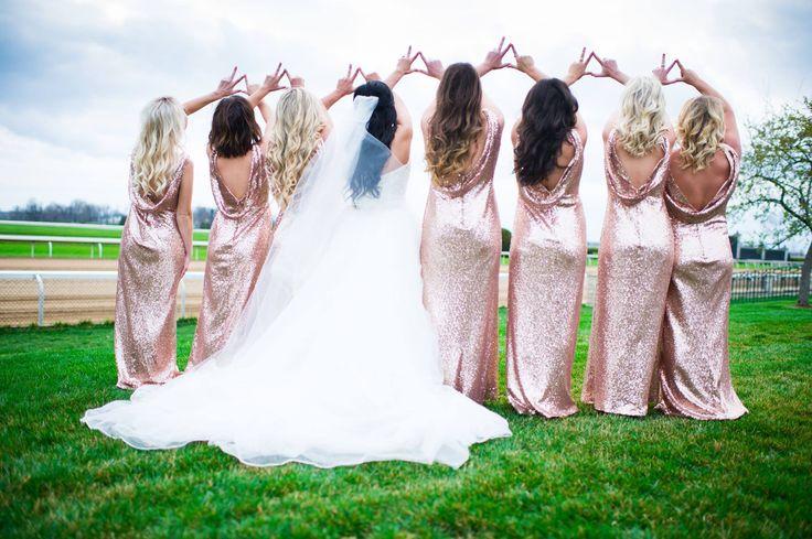 Kappa Delta wedding party