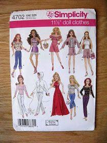 Como hacer ropa para barbie