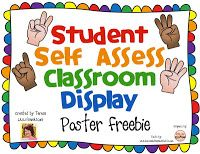 Classroom Freebies Too: Student Self Assessment Posters