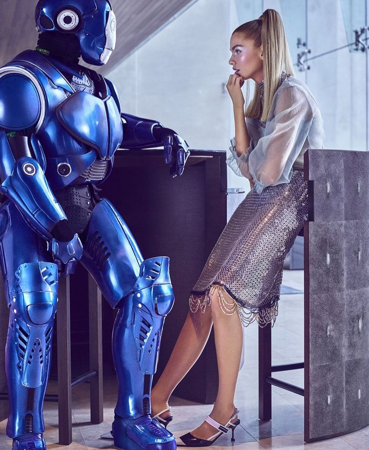 Stella Maxwell Takes On Futuristic Fashion for Harper's Bazaar