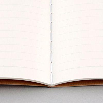 再生紙ノート・7mm横罫 A4・A罫・30枚・糸綴じ | 無印良品ネットストア
