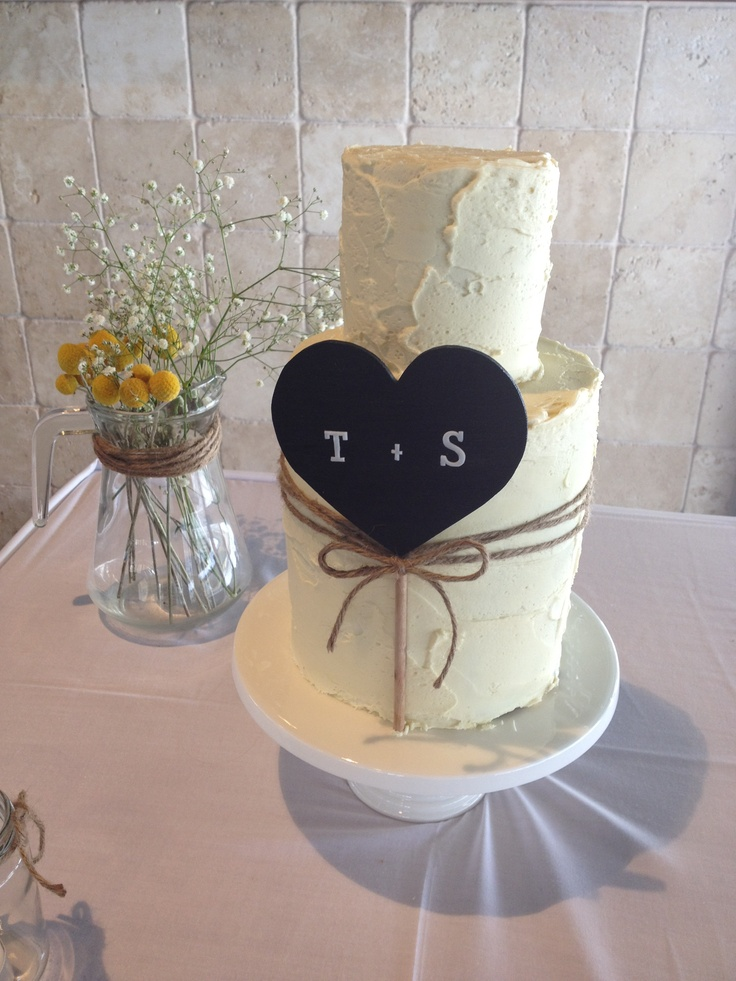 White chocolate ganache wedding cake by 3dcakes.com.au ...