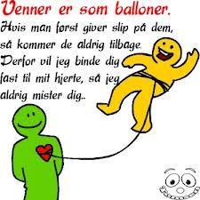 Venner er som balloner