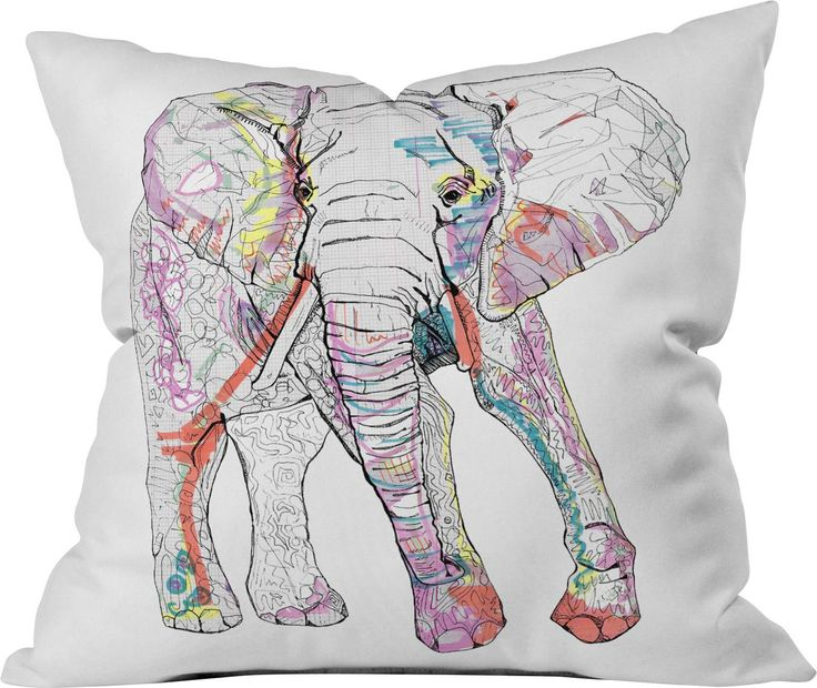 Sequin Elephant Throw Pillow : 25+ best ideas about Elephant throw pillow on Pinterest Pink throw pillows, Elephant ...