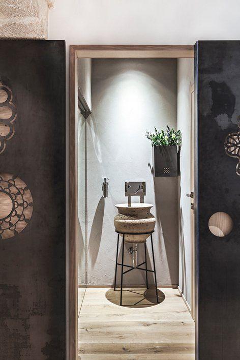 Love this #bathroom #design! ridola caffè, Matera, 2015 - manca studio