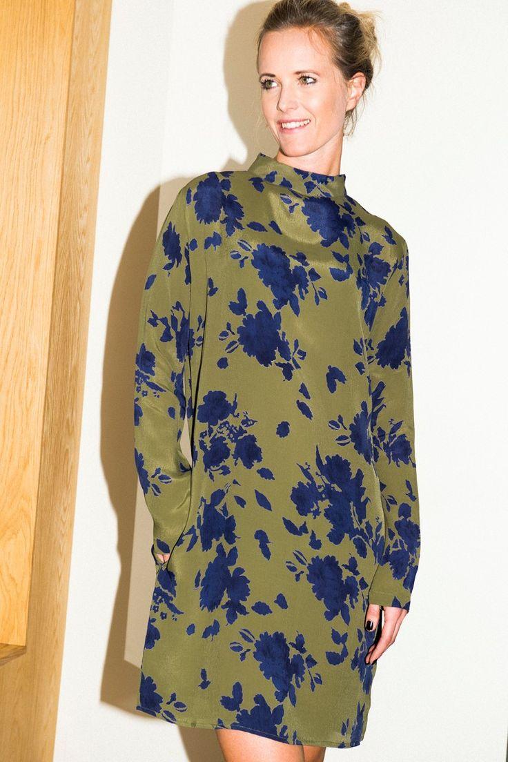 MISSMAYA Sienna Dress Army-Navy
