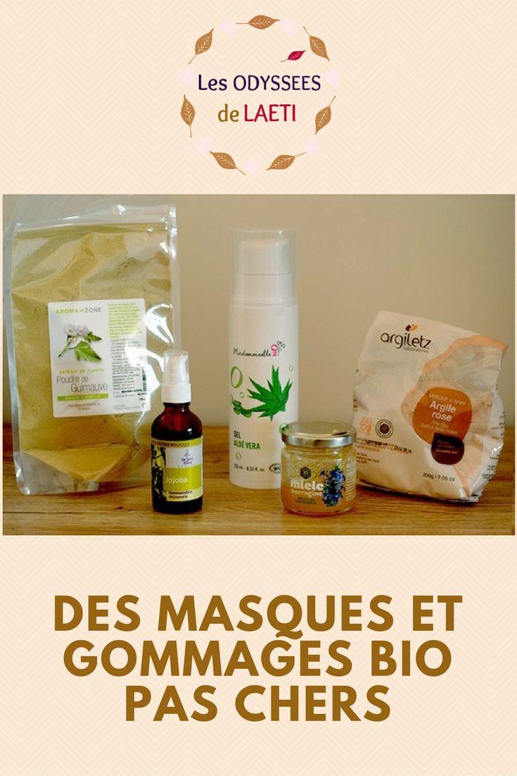 Découvrez les ingrédients bio qui vous permettront de réaliser vos masques et gommages naturels