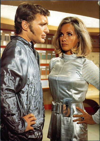 Gerry Anderson's UFO. By the time it's 1980 we're all going to be wearing silver clothes. Can't wait.