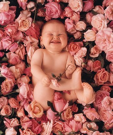 I love Anne Geddes, and this cute photo:)