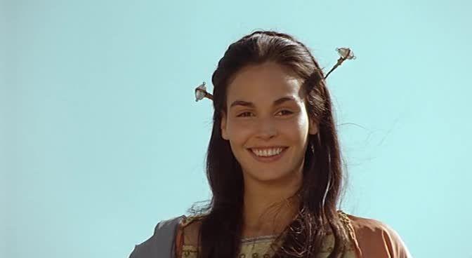Inés Sastre in the film 'Druids' (aka 'Vercingetorix') (2001)