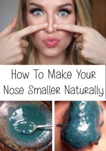 How To Make Your Nose Smaller Naturally