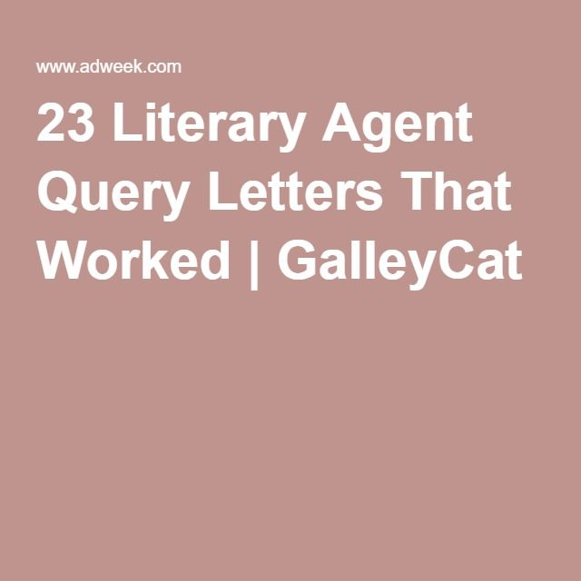 13 Best Query Letters Images On Pinterest
