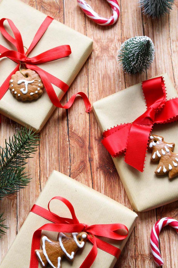 Weihnachtliche Geschenkanhänger aus Lebkuchen selber machen