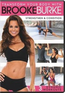 Author, 40 year old mother of four, TV star and entrepreneur Brooke Burke proves that you can have an amazing body at any age. She knows what it takes to tone and tighten her body and now she is going to share those secrets with you.