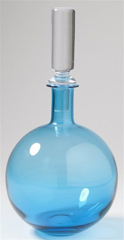 Studio A 7-60010 Lab Aquamarine Transitional Decanter STA-7-60010 72.99 usd  13.5 in