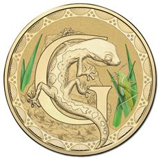 Australia 2015 Alphabet G Frosted Uncirculated Coin - Downies.com