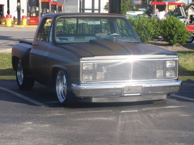 1984 Stepside Chevy with phantom grill