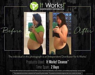 Fabulous Body Wraps - Ind. It Works Distributor: IT WORKS 2 DAY CLEANSE RESULTS REVIEWS