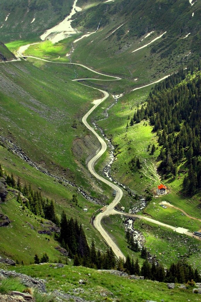 Transfagarasan, Fagaras Mountains, Romania