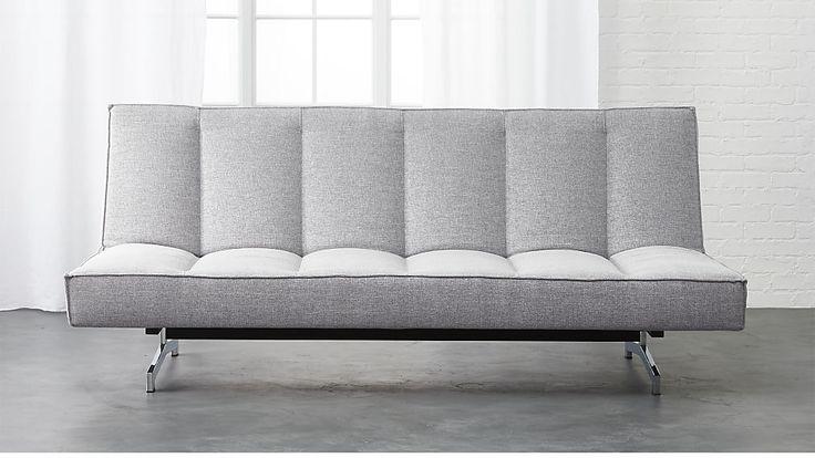 "flex microgrid grey sleeper sofa, dess microgrid, 79""w x 49""d x 30""h, $999"