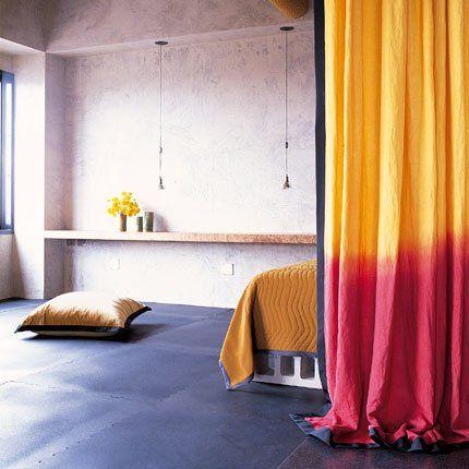 1000 id es propos de rideaux tie dye sur pinterest for Teindre un canape tissus
