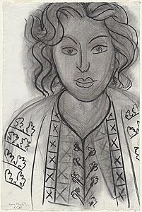 Henri Matisse ~ Romanian blouse