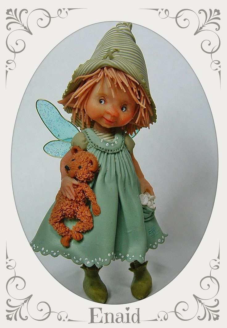 enaidsworld: Fairy puppets & muizen