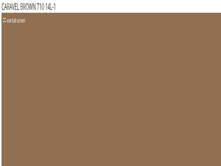 Caravel brown taubmans paint colours pinterest brown for Taubmans exterior paint colours