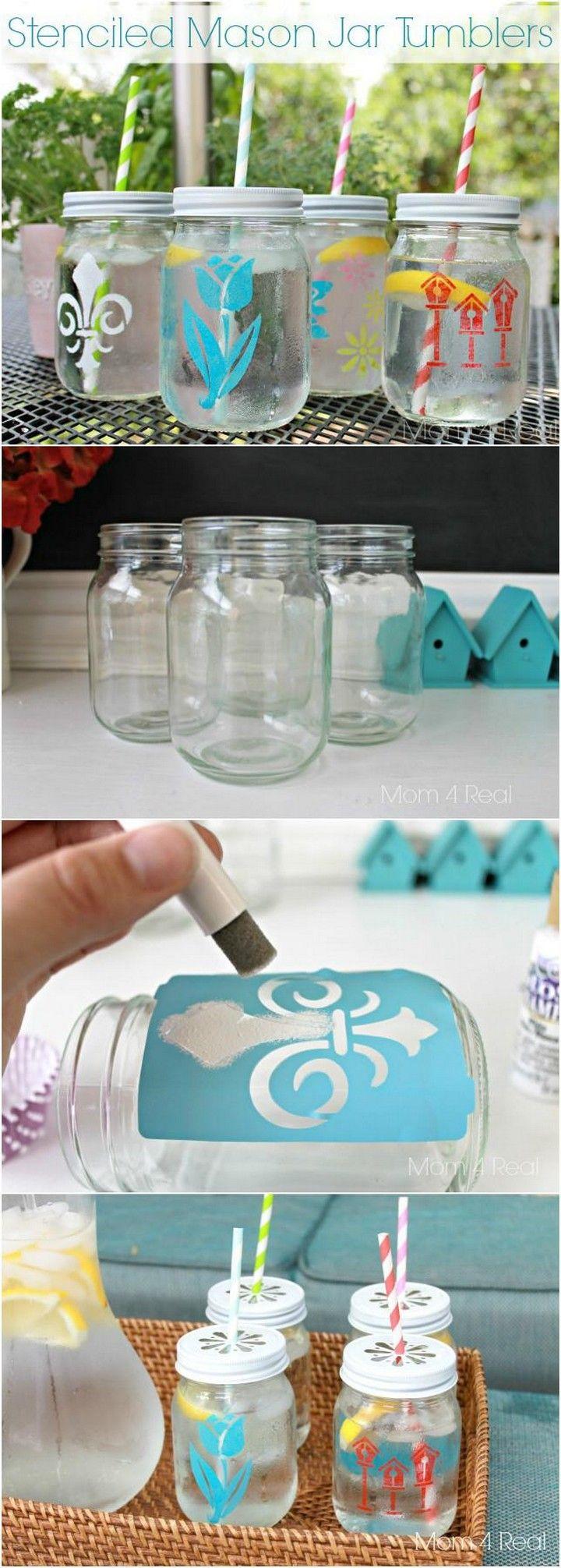 160 DIY Mason Jar Crafts and Gift