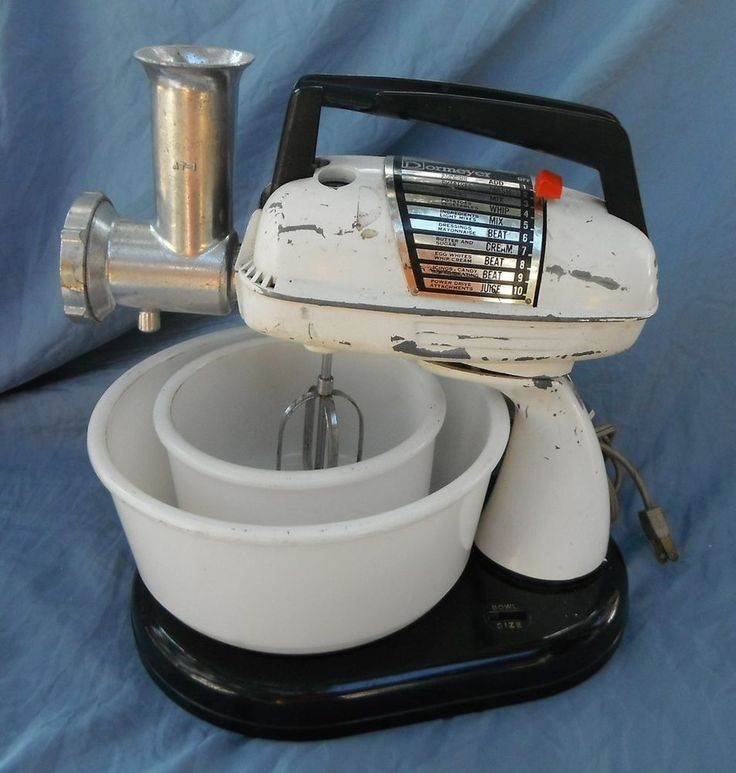 Mixer Meat And Vintage On Pinterest