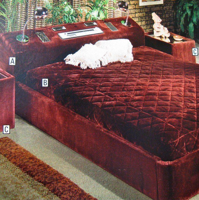 1970's customized bed