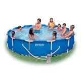 "Need a pool for summer? Win an Intex 12' x 30"" Family Size Metal Frame Pool Set (with Filter Pump and DVD) 5/16 USA"