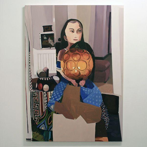 Helen Verhoeven, Mother 8, oil on canvas. 2013.