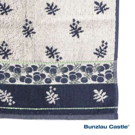 Berry Kitchen Towel Dark Blue