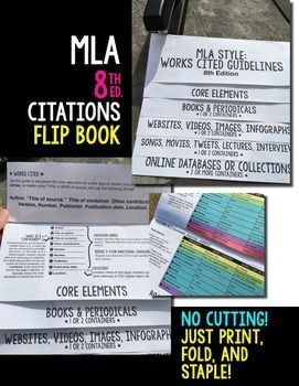 MLA Style & Format 8th Edition: Citations, Instructions, Practice, Examples