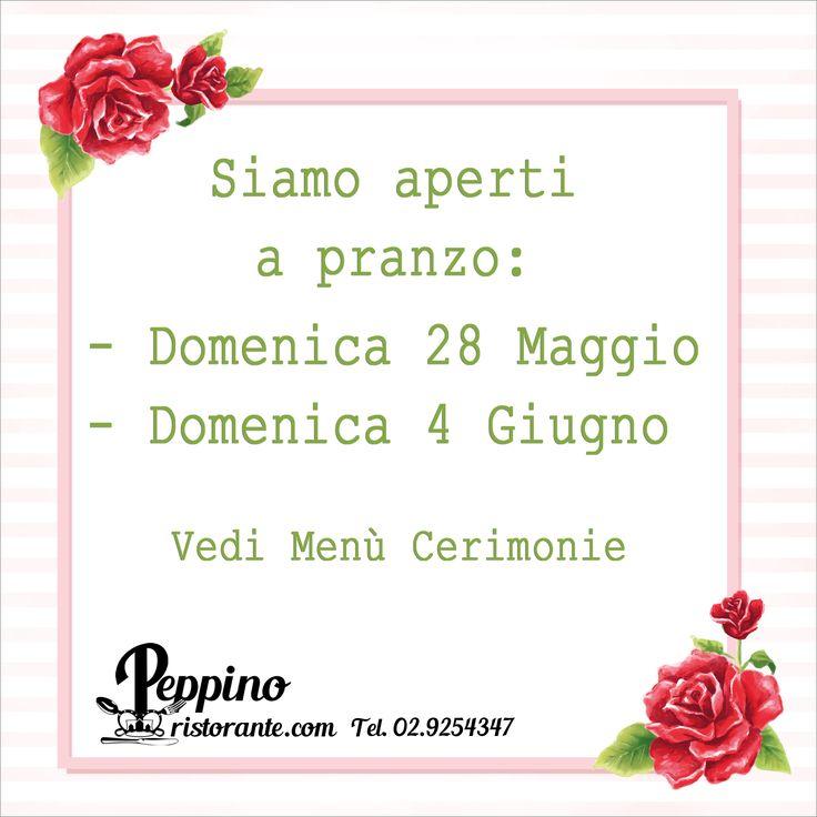 Vi aspettiamo a pranzo :) #pranzodelladomenica #peppinocarugate #peppinoristorante #saicosamangi #carnikmzero #dolcihomemade #tortehomemade