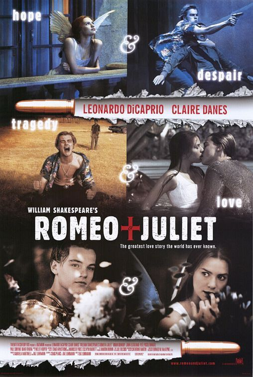 """William Shakespeare's Romeo + Juliet"" (Romeo y Julieta, de Willilam Shakespeare) 