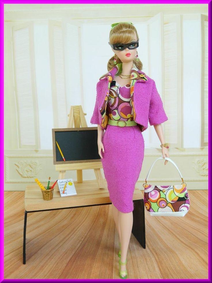ºBig Bangº~OOAK Teacher Fashion Silkstone/Vintage Barbie/Fashion Royalty~Joby #JobyOriginals