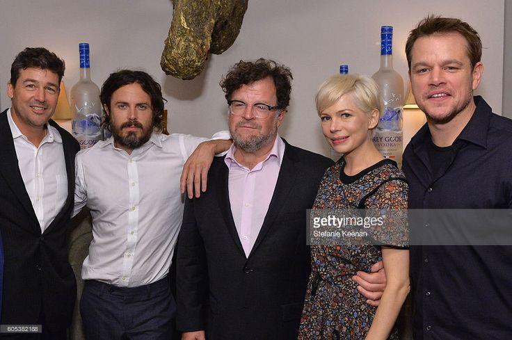 Actors Kyle Chandler, Casey Affleck, director Kenneth Lonergan, actress Michelle…