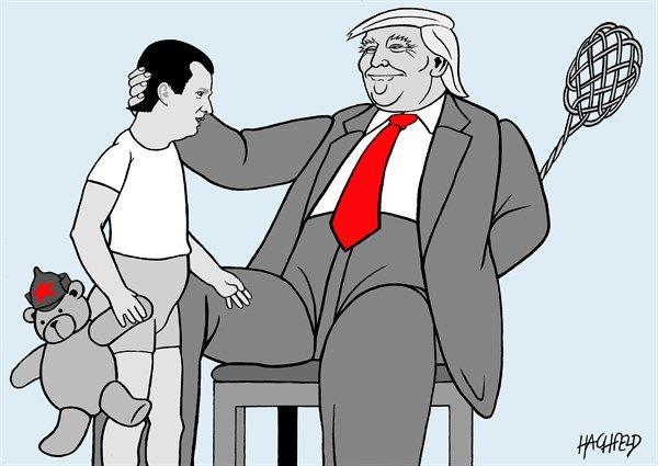 Rainer Hachfeld - Neues Deutschland, Germany - Trump junior, Trump senior - English - Donald Trump Jr, Donald Trump Sr